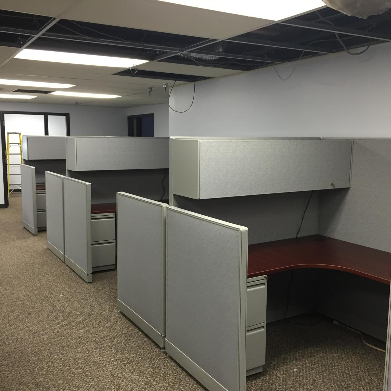 Office Furniture Installation Chicago Dba Cube Install Inc Projects # Haworth Muebles Oficina
